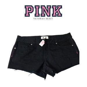 NWT Black Short Shorts By Pink. Sz 8